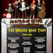 The Tour Poster! – Ukulele Road Trip 2011