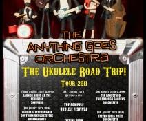 The Tour Poster! – Ukulele Road Trip 2011